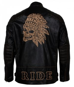 Apache Man Leather Jacket
